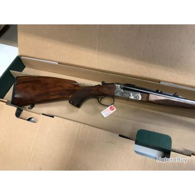 MERKEL Carabine Express Juxtaposé 141, gravure chasse, calibre 9.3x74R, mono détente