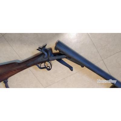 fusil de chasse de collection à broches