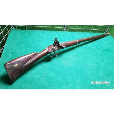 Fusil a silex 18 eme type réglementaire français 1728 / 1746