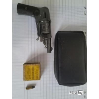 Revolver velodog bossu 6.35mm