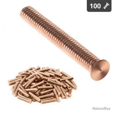 Goujons de soudage - M5 - 35 mm - Acier - 100 pièces