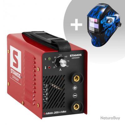 Set d'équipement de soudage Poste à souder à l'arc - 200A - 230V - IGBT + Masque de soudure - Sub Ze