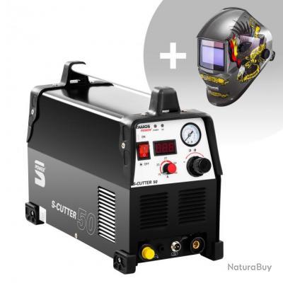 Set d'équipement de soudage Découpeur plasma - 50A - 230V - Pro + Masque de soudure - Eagle Eye - AD