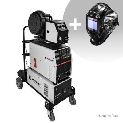 Set d'équipement de soudage Poste à souder MIG/MAG - 500A - 400V- digital 2.0 + Masque de soudure -