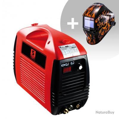 Set d'équipement de soudage Découpeur plasma - 50A - 230V + Masque de soudure -Firestarter 500 - ADV