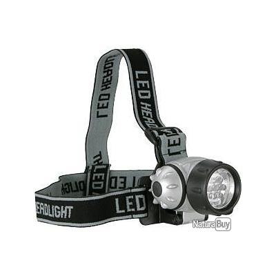 Lampe frontale LED, 7 LED inclinable