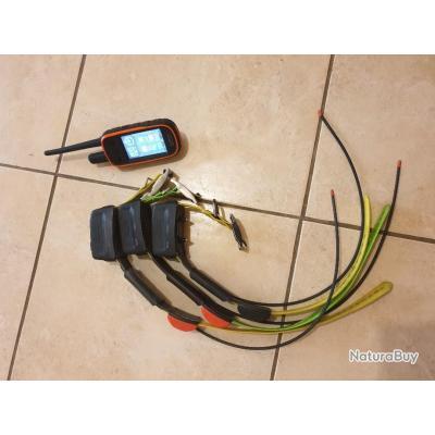 Ensemble GPS garmin alpha 100