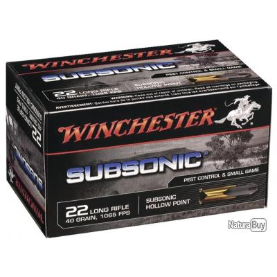 Winchester 22LR Subsonic x 50