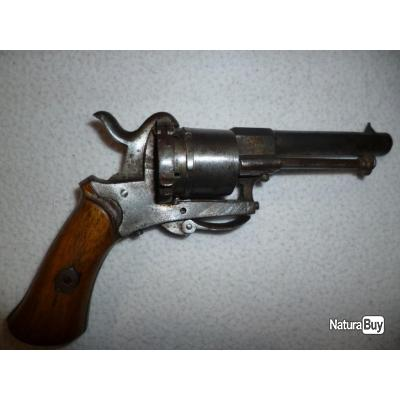 Revolver fabrication liegeoise type Le Faucheux