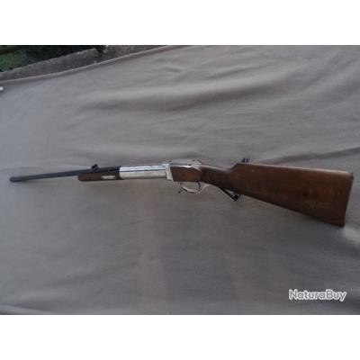 Pour collectionneur!!! insolite,  carabine à air comprimé en 6mm  à balles rondes canon octogonal