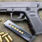 SUPER PROMO!! Pistolet à Blanc Semi Auto Type Glock 9mm PAK ISSC M22 Z 13 Coups + Malette