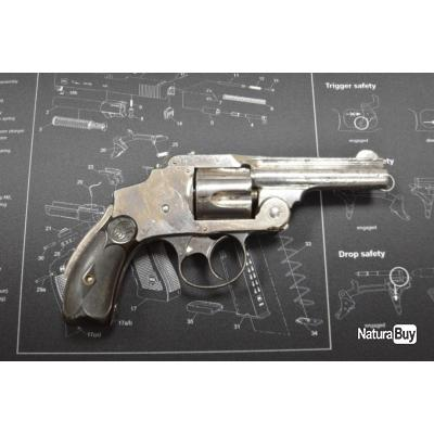 """Revolver Smith & Wesson """"Safety Hammerless"""" cal .38s&w"""
