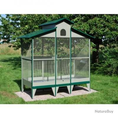 Volière de jardin GEANTE cage oiseau NEUF 13O