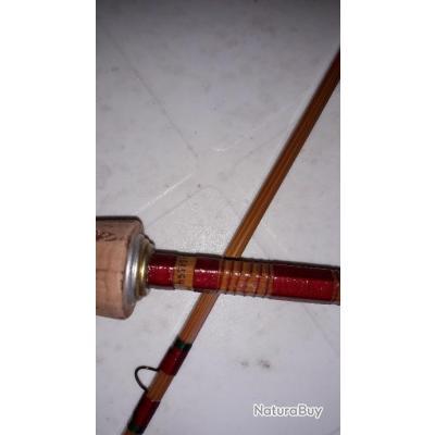 Canne en bambou refendu PEZON et MICHEL