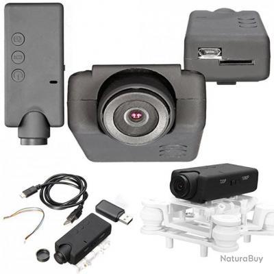 Caméra embarquée Full HD Mark IV avec Optique Grand Angle et Reverse Mode pour FPV Racing