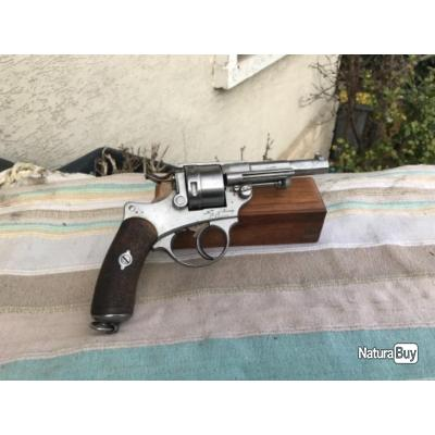 Revolver 1873 revolver d ordonnance réglementaire daté 1874 parfait etat tout au meme numero