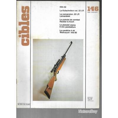 cibles 146 iwa82, conversion 22 lr lemardelet , pistolets de combat heckler  & koch, lunettes kassnar
