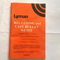 Manuel Poudre Noire par Lyman Black Powder Handbook, 2nd