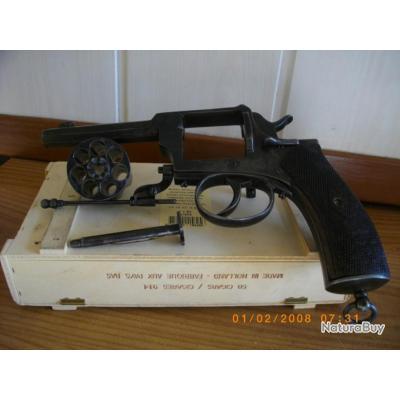revolver 8 mm liégeois