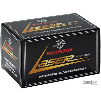 Munitions 22LR Winchester laser x 50