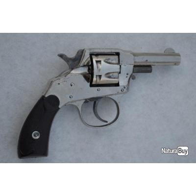 REVOLVER HOPKINS & ALLEN 1886 Calibre 22 RF - US XIXè Très bon  U.S.A. XIX eme Civil Categorie D
