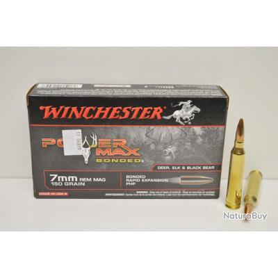 Balles calibre 7 REM Winchester power max