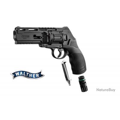 Pack Revolver a balles de caoutchouc CO2 Walther T4E HDR 50 cal. 50 11 joules
