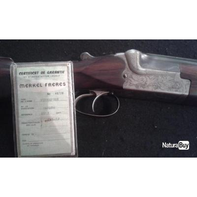 a1860938d0c Fusil Merkel superposé 12 70 - Fusils Superposés calibre 12 (5424209)