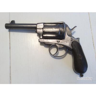 Revolver GASSER System Patent New Model Wien - Type Monténégrin cal 11 mm - Liège
