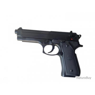 PISTOLET M 92 M92 FS NOIR SPRING HOP UP ASG 0.4 JOULE