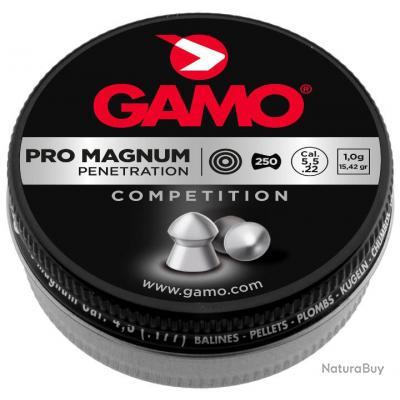 3 Boites Plombs PRO MAGNUM - PENETRATION 5,5 mm - GAMO