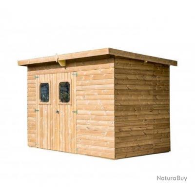 Habrita Foresta - Abri panneaux THEORA en bois thermo chauffé sans ...