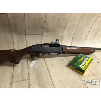 Carabine semi-automatique REMINGTON 7400 calibre 35whelen + point nikko stirling + boîte 17 balles