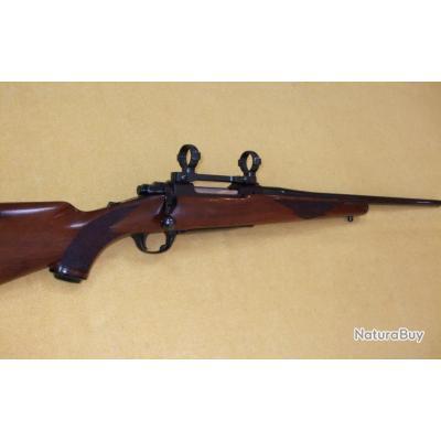 CARABINE RUGER M77 en 7x57 Mauser !!! +MONTAGE 1 PIÈCE HILVER ACIER - 1€ SANS PRIX DE RÉSERVE !!!