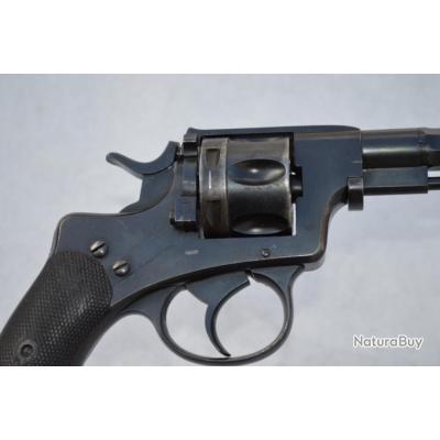REVOLVER NAGANT DOUANE BELGE 1878 - 86 Calibre 9.4mm - BE XIXè Très bon  XIX eme Belgique Reglo Etra