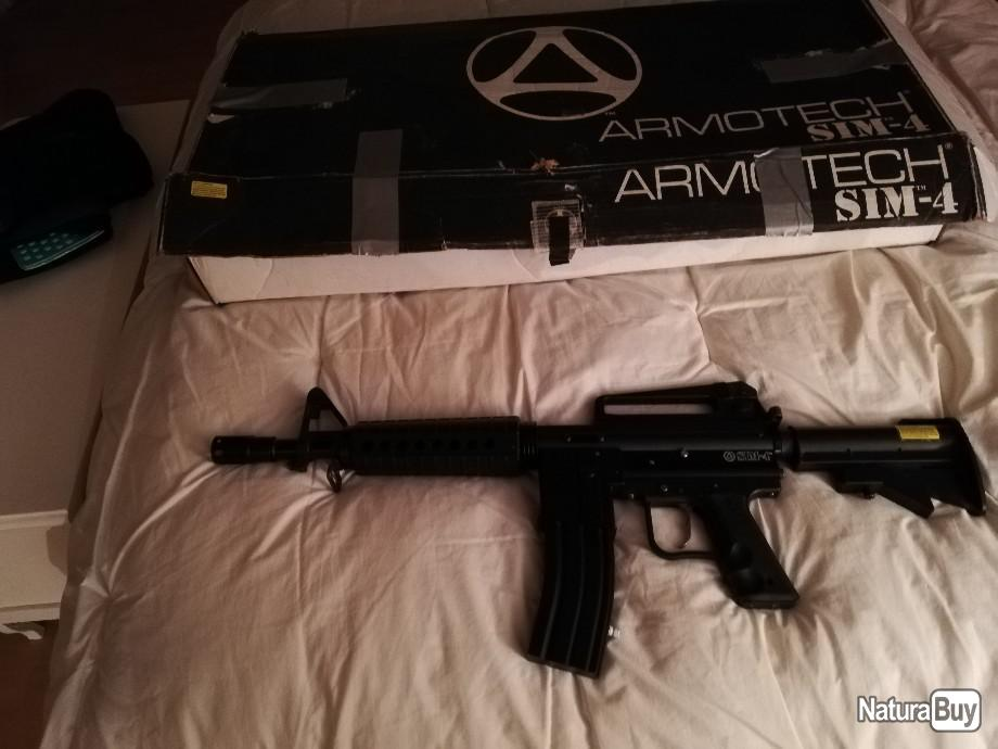 Annonce billes paintball : Fusil Paintball