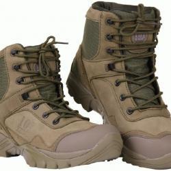 Cuir Paire Hauteur De Montantes En Chaussures Semi Mi Boots Recon bgfY76y