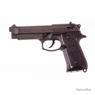 REPLIQUE M92F / M9 KJ WORKS GAZ BLOWBACK GBB LOURD NOIR 0.84 JOULE