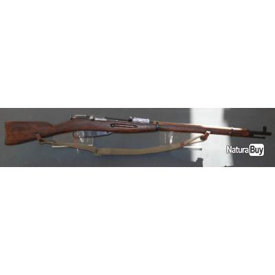 Fusil Mosin Nagant Izhevsk de 1941 91/30 Arsenal Russe - calibre 7.62x54R - Mono-matricule - TAR