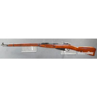Fusil Mosin Nagant 91/30 Izhevsk 1934 Boitier Octogonal  - calibre 7.62x54R - Mono-matricule - TAR