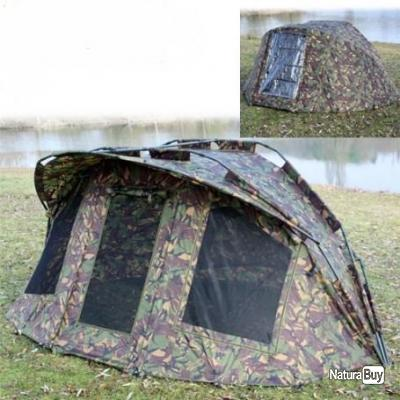 Bivvy camou  2 place biwy camouflage + surtoie  neuf