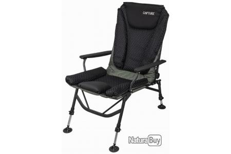 Angel spécifiques 6-Jambe Luxe carpes Couchage Acier Bedchair Angel Chaise Longue Chaise Lit d/'appoint