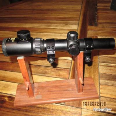 lunette de battue edenberg 1,25-4,5X26E  réticule point rouge lumineux