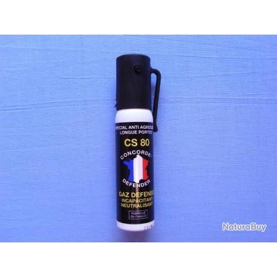 Gaz lacrymogène CS. 25 ml