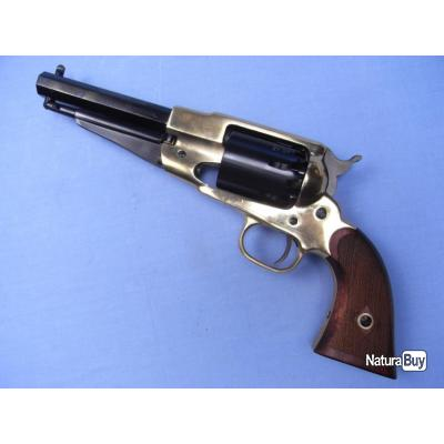 Révolver Remington 1858 Crosse quadrillée cal.44. Pietta