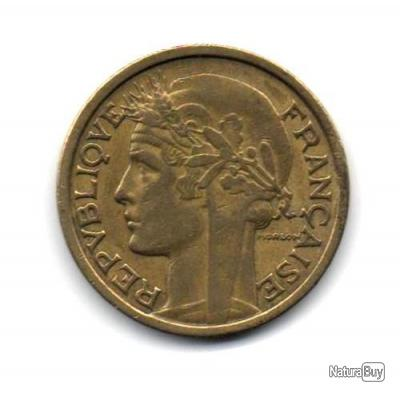 Pièce de Monnaie France 2 francs Morlon 1936
