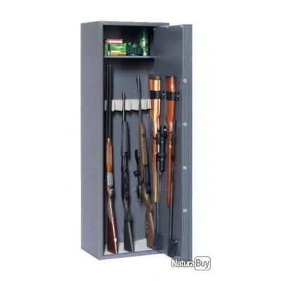ENCHERE 1€ SANS RESERVE !!! Coffre fort ELITE Reload 10 armes avec lunette + étagère intérieure