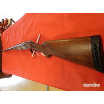 Fusil juxtaposé Merkel anson d'occasion 76 mm 68 cm