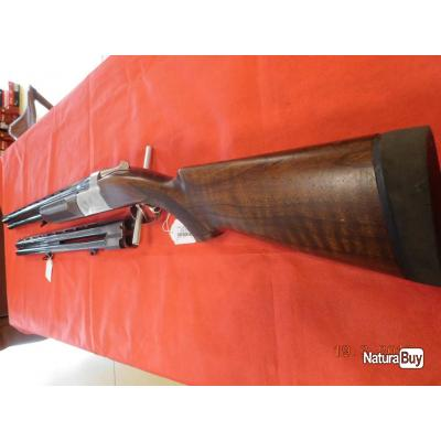 Fusil superposé Verney-Carron Sagittaire Polynox Classique d'occasion 70 mm 68 cm, 2 canons