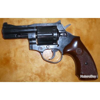"Rare revolver d'alarme SM 2000, cal. 9mm RK, 2.5"", Made in West Germany, bon état (N° 1)"